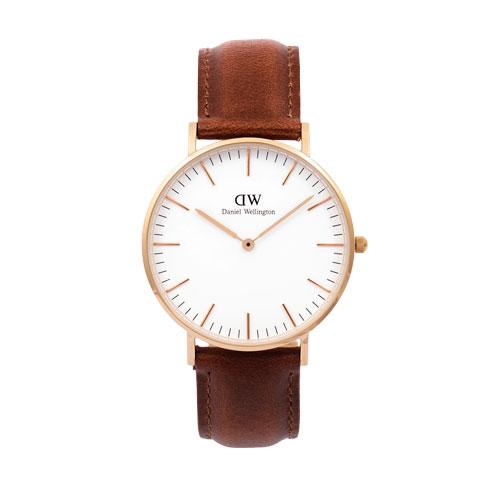 Korting Daniel Wellington DW00100035 horloge dames